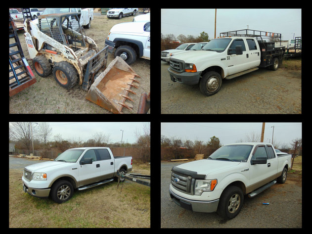 Bankruptcy Auction of McCorkle Concrete - Trucks, Trailers and Finishing Equip.
