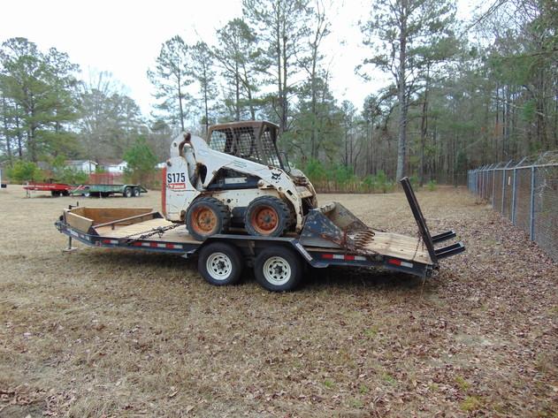 Bankruptcy Auction of Greenfield Construction Co., Inc. - Bobcat Skidsteer & Hudson Trailer