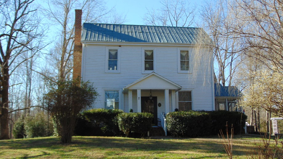 10.02+/- Acres Selling Divided, House and Shop Building Located in Reidsville, NC