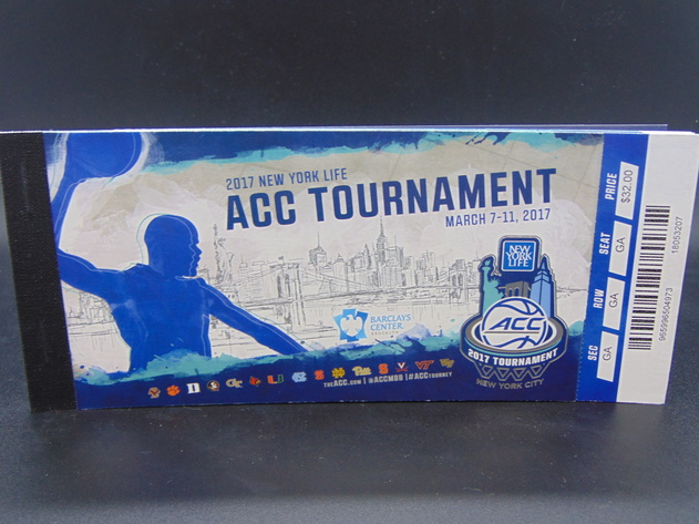 2017 ACC Men's Basketball Tournament Tickets