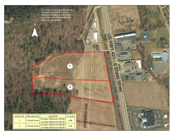 12+/- Acre Commercial Property in Mountain City, TN