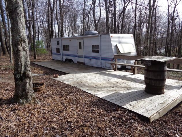 Online Only Camper and Lot, US Parkway & Two Lots in Ashe County, NC