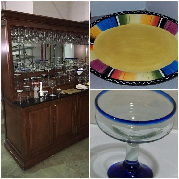 Spring Glass Mixer