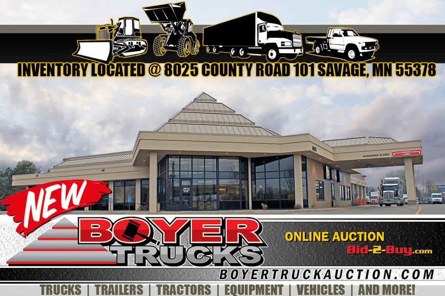 Boyer Truck & Equipment April Auction