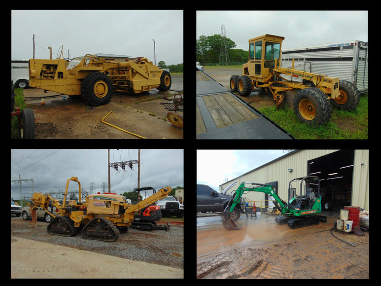 Construction, Farm and Shop Equipment and Tools