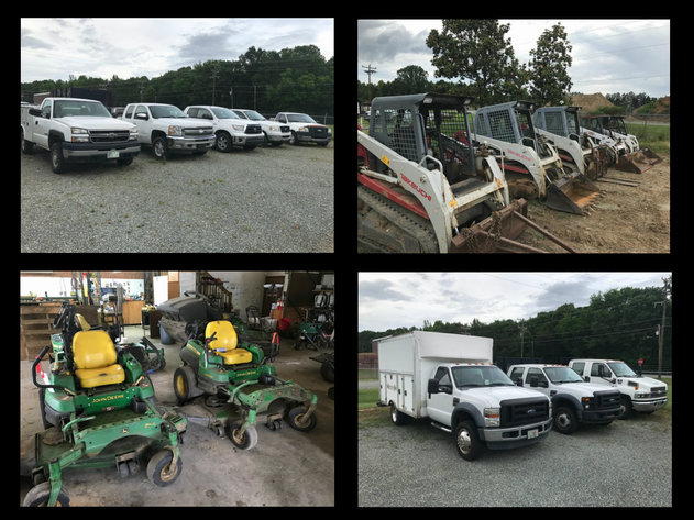 Commercial Trucks, Pickup Trucks, Cars, Trailers, Construction Machines & Mowers