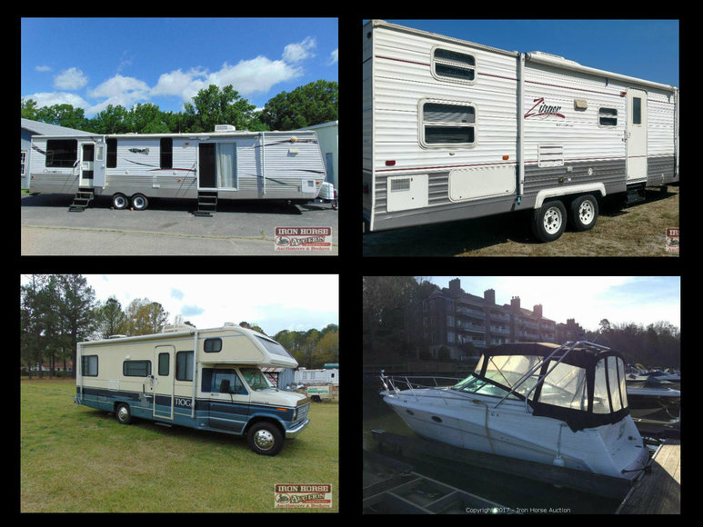 Camper, RV & Boat Auction