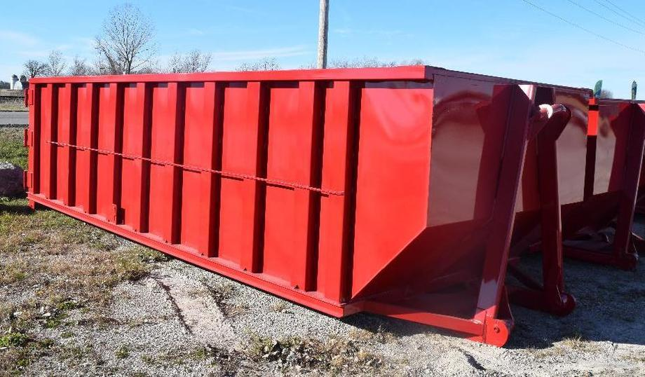 (4) 22' & (1) 20' Dumpsters With Hook and Cable