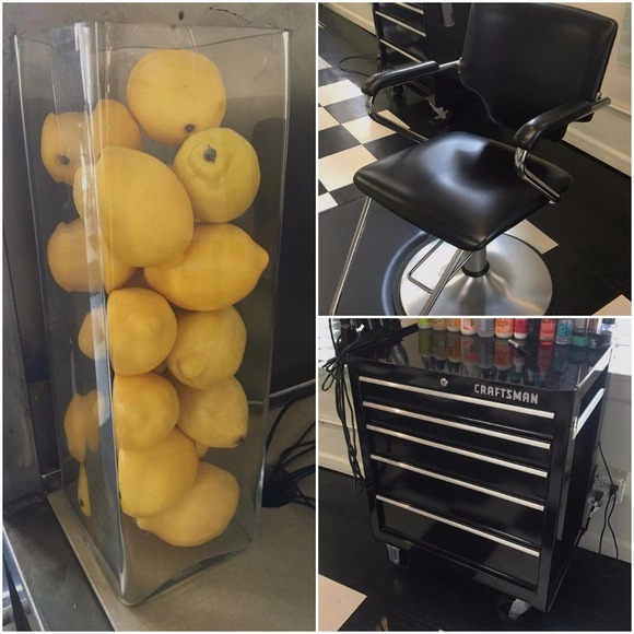 Lemons Hair Studio Moving Sale