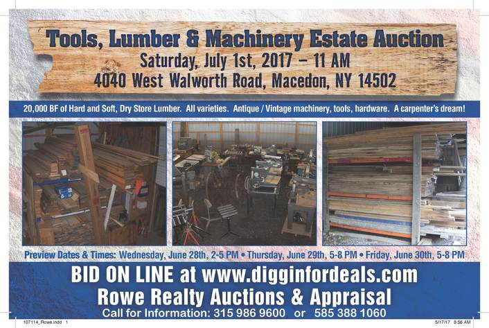 Rowe Estate Auction