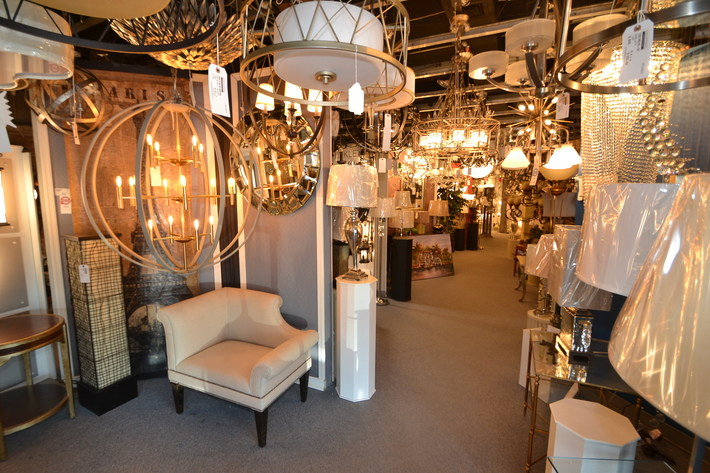 Designer Lighting Showroom