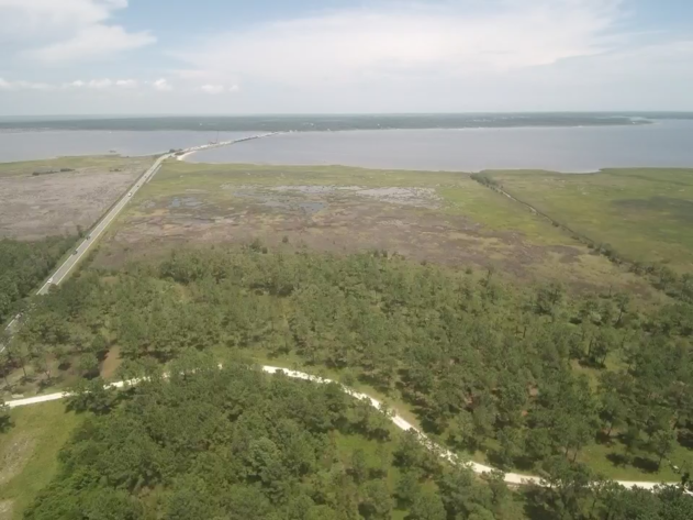 Waterfront Acreage Tracts on the North River in Carteret County, NC