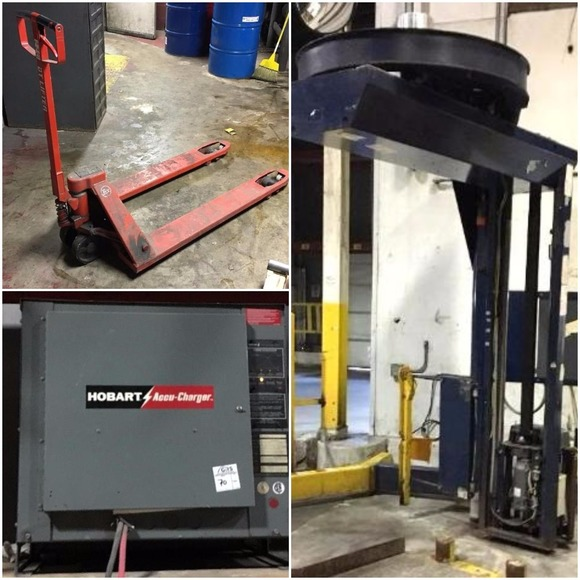 Industrial Shrink Wraps & Forklift Chargers
