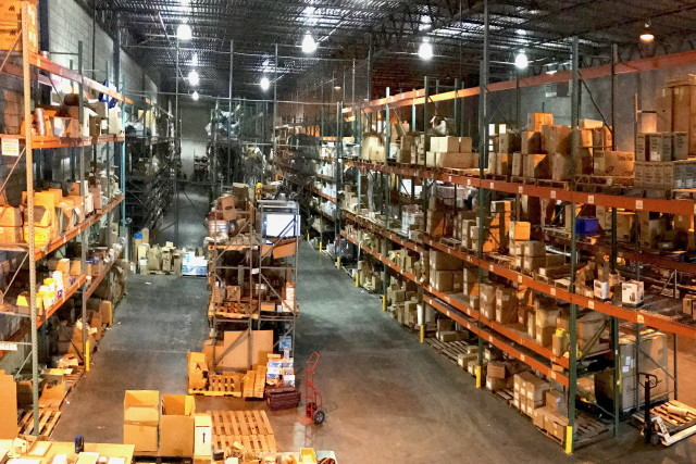 Industrial Supply Warehouse Inventory