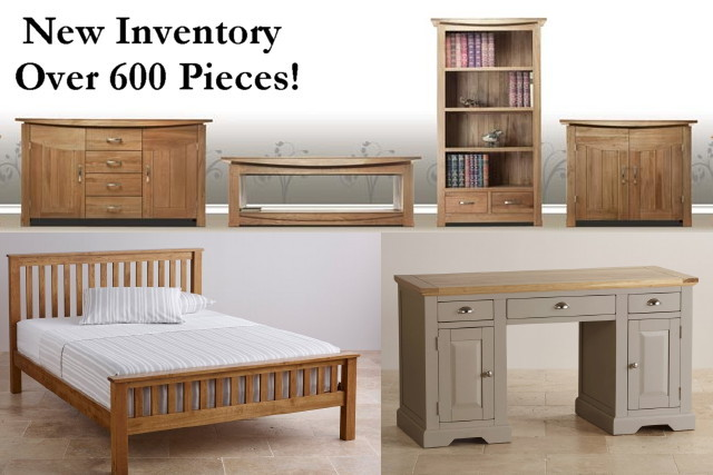 Warehouse Inventory of Solid Wood Furniture