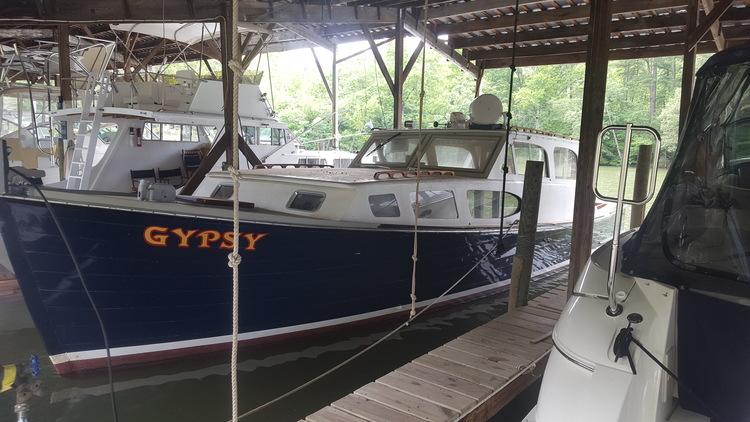 Bankruptcy: Deltaville Deadrise 38' Cabin Cruiser