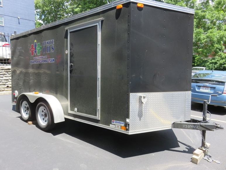 14ft. Enclosed Trailer- Excellent Condition
