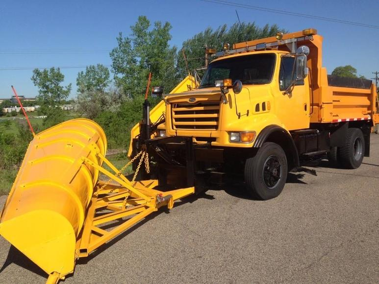 Washington County, Sibley County and Bayfield County Plow Trucks
