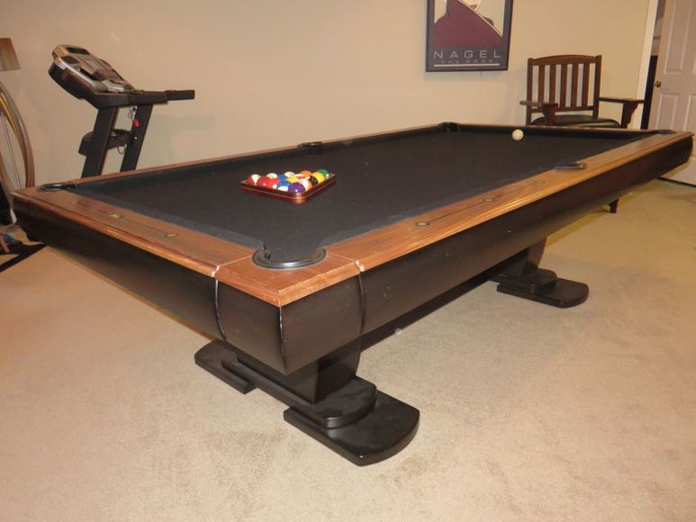 HighEnd Pool Table Contemporary Office Furniture And More - Mobile pool table