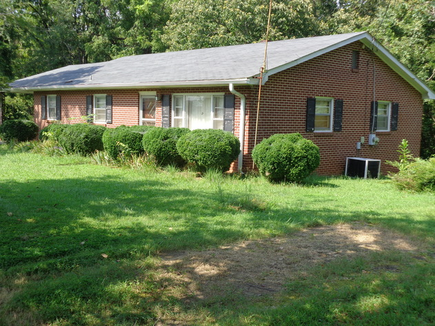 Brick Home on 6 Acres in Pilot Mountain, NC