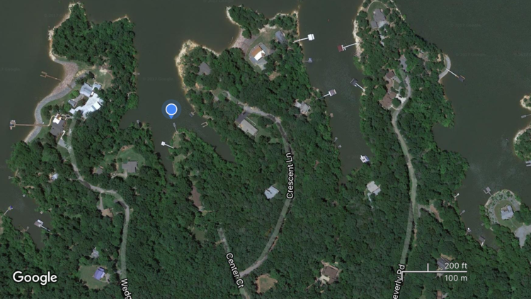 1.11 /- Acre Building Lot on Kerr Lake/Buggs Island Lake--ONLINE ONLY BIDDING!!