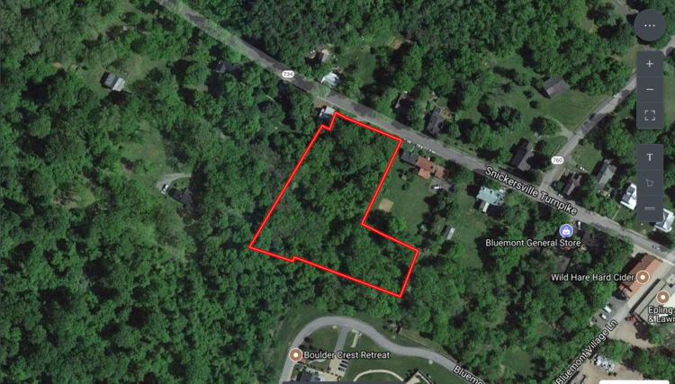 2 +/- Acre Wooded Lot Just off of Rt. 7 in Loudoun County, VA--ONLINE ONLY BIDDING!!