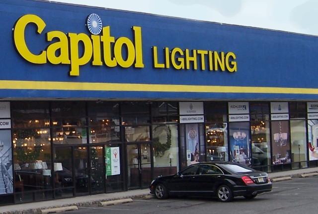 Retail Lighting Showroom