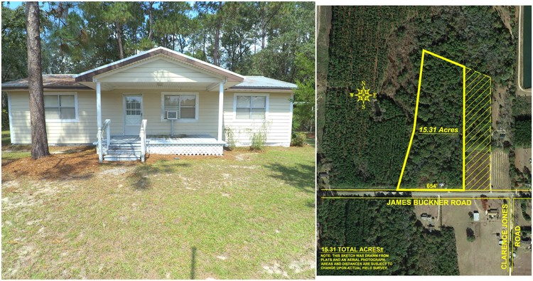 Miraculous 15 Acres With Home In Colquitt County Georgia Weeks Download Free Architecture Designs Embacsunscenecom