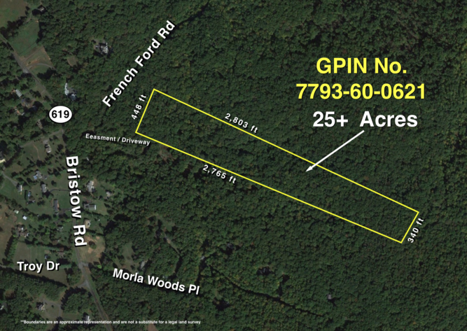 Image for 25 +/- Acre Wooded Parcel in Prince William County, VA--Sells to the Highest Bidder!!--ONLINE ONLY BIDDING
