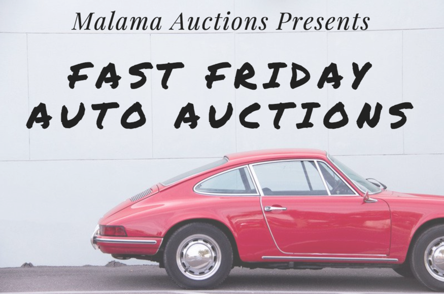 Fast Friday Auto Auction 10/27