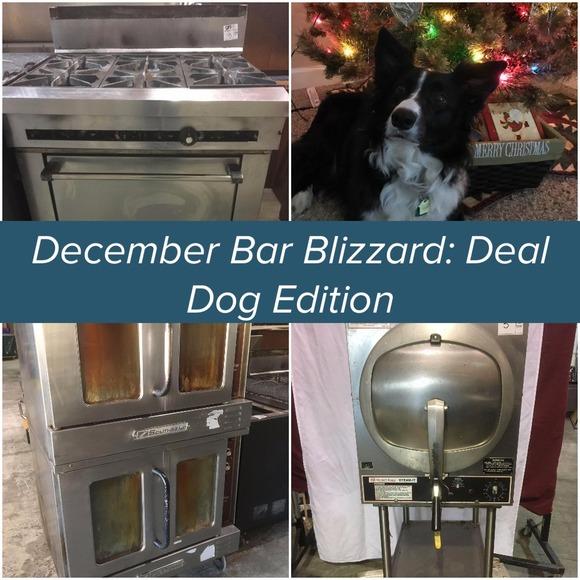 December Bar Blizzard: Deal Dog Edition