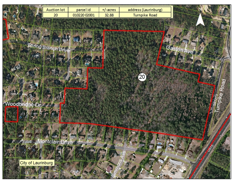 Residential and Acreage Tracts in Scotland County, NC
