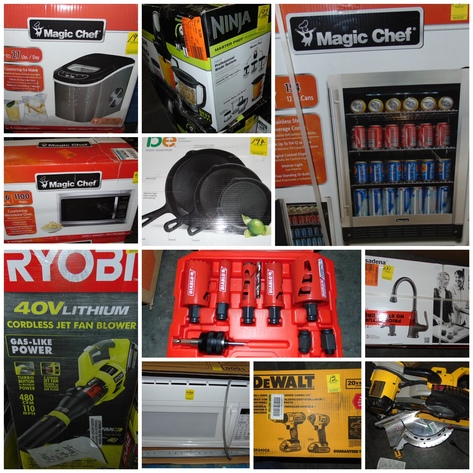 Online Only Hardware Store Overstock, Returns, Damaged Inventory