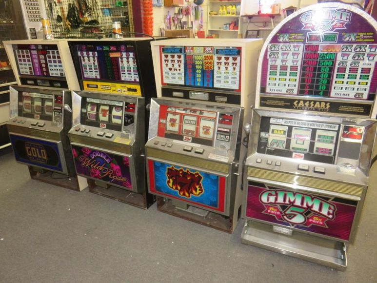 Slot Machines and More!!