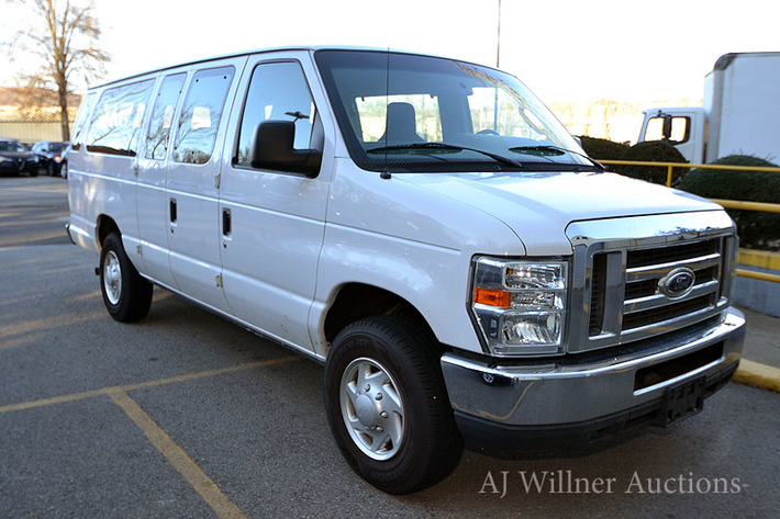 Forklifts & 2012 Ford 15-Passenger Van