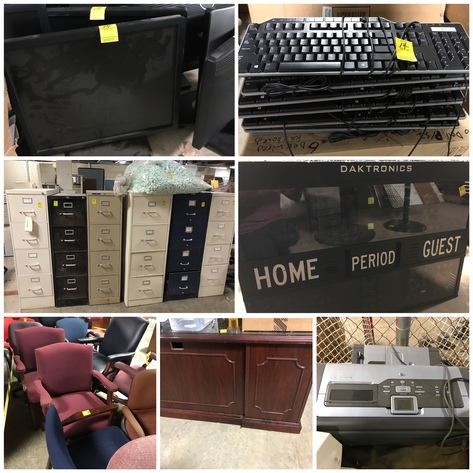 City of Greensboro Surplus Office Furniture/Computers Online Only