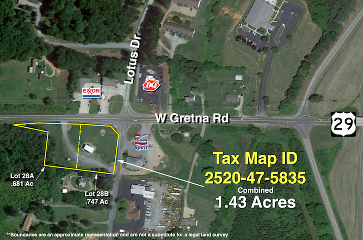 2 Parcels Totaling 1.4 +/- Acres w/2 Suite Office Building--Selling to the Highest Bidder!!