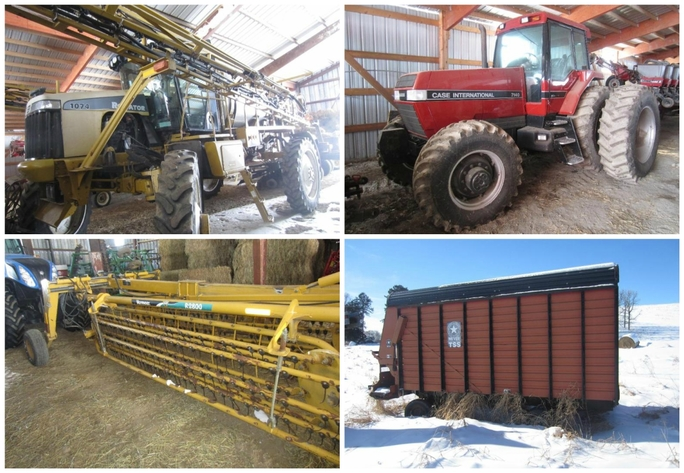 sprayer, case ih 7140 magnum & more machinery - osseo, wi | hansen & young,  inc
