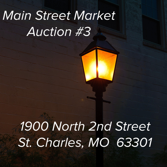 Main Street Market Auction #3