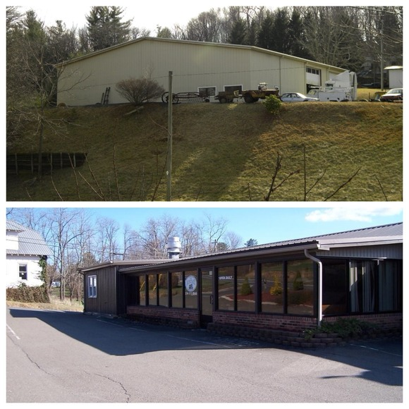 Restaurant and 2.32+/- Acres w/ Garage in Sparta, NC