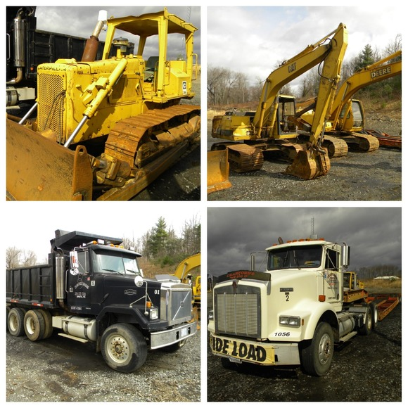Road Tractors, Trailers, Pickup Trucks, Excavators, Backhoes, Jeeps and Much More