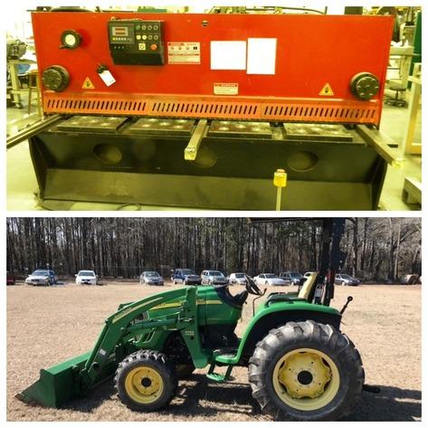 John Deere Tractors, Boat, Cars, Tools and Equipment