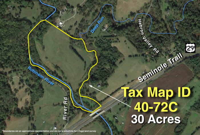 Image for 30 +/- Acres w/River Frontage & Creek Frontage in Madison, VA--Sells to the Highest Bidder!!
