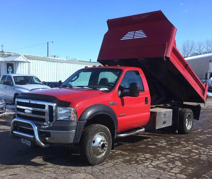 Dump Trucks, Box Trucks & Trailers