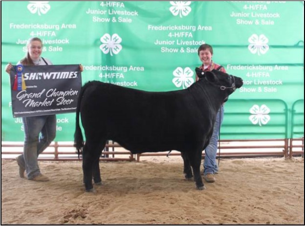 71st Annual Fredericksburg 4-H/FFA Junior Livestock Show & Auction