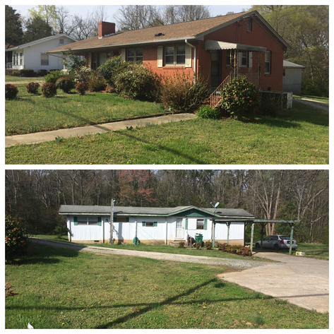 2 Houses and Lots in Stanly County, NC