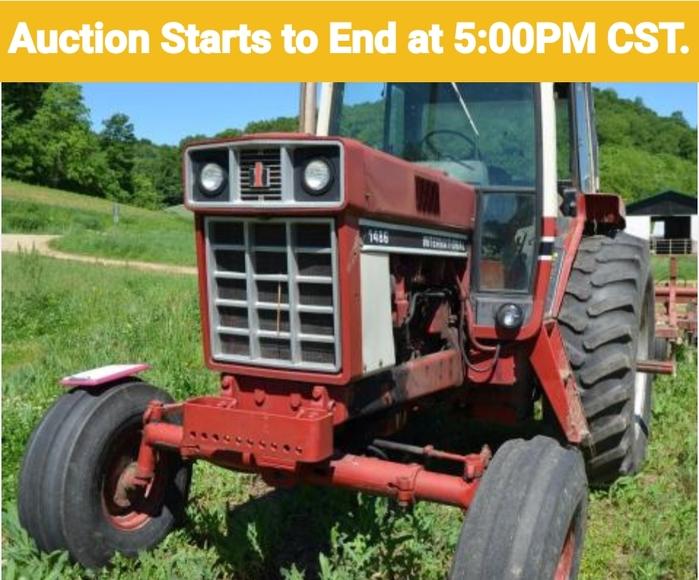 IH Tractor, Machinery, & Grain Truck