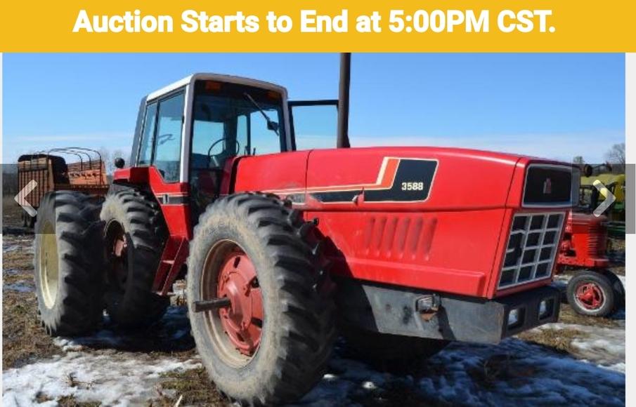 IH Tractors, Machinery, Feed & Dairy Equipment