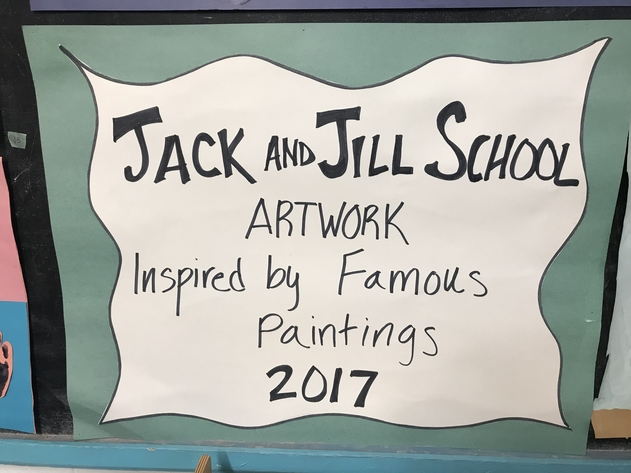 Jack and Jill Art Auction