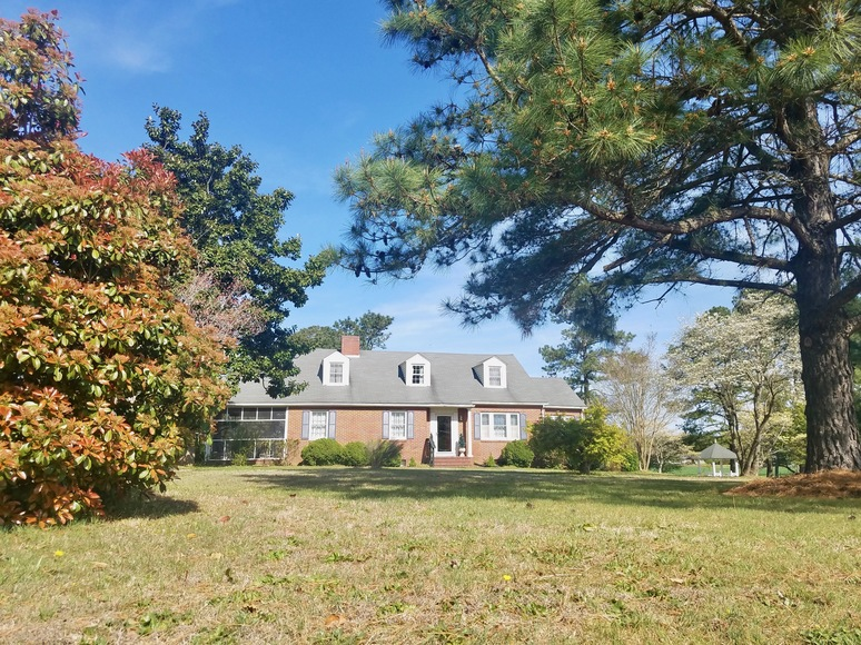 Featured Image for 4 BR/2 BA Brick Cape Cod Style Home on 2.8 +/- Acres in Warsaw, VA (Richmond County)